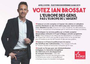 Appel à Voter Ian Brossat